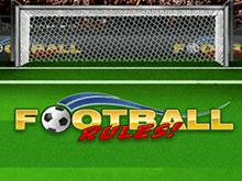 Игровой аппарат Правила Футбола в азартном клубе Вулкан